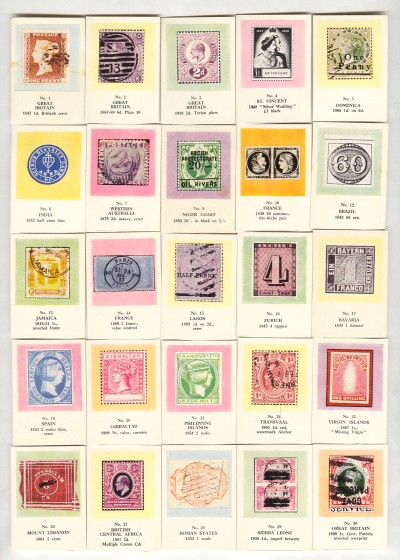 Stamps Of England