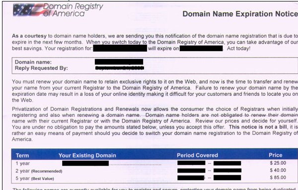 DROC Letter - This is Not an Invoice